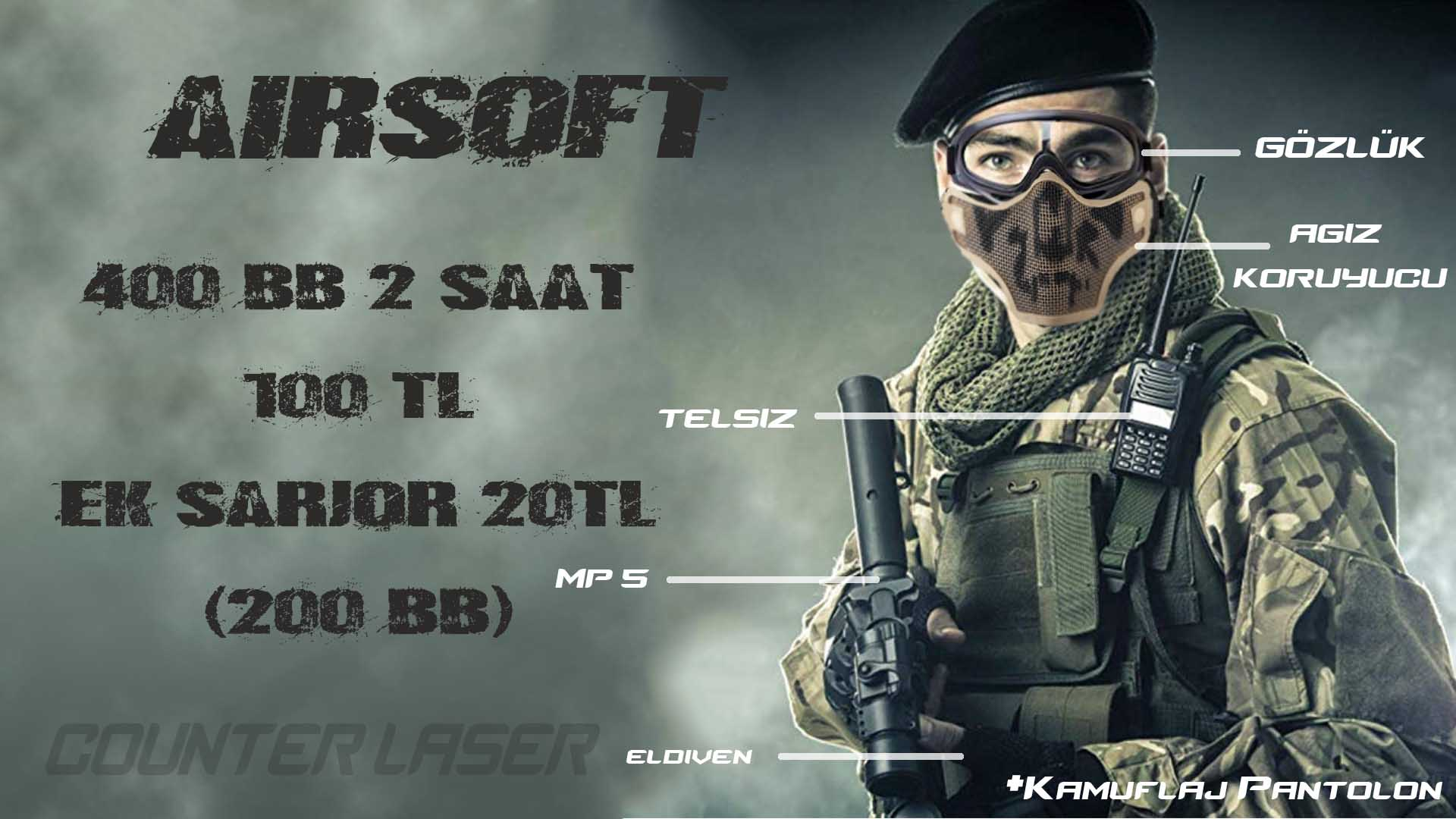 AİRSOFT COUNTER LASER